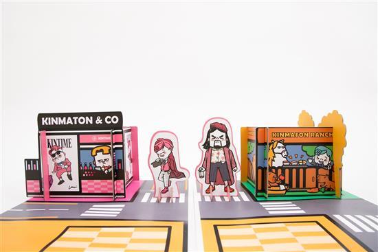 【金專櫃置物架】 《金馬桶搞笑漫畫》X 《獨家周邊商品》