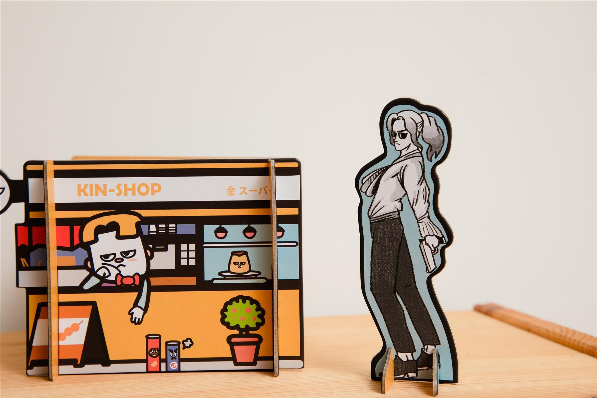獨家金超市置物架x-金馬桶搞笑漫畫 KIN MA TON