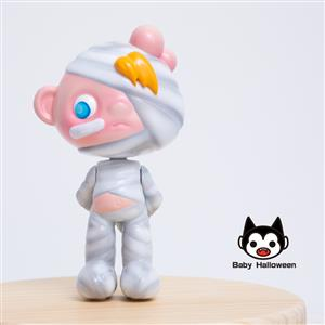 Baby halloween halloween  設計師玩具 木乃伊 萬聖節  潮流玩具